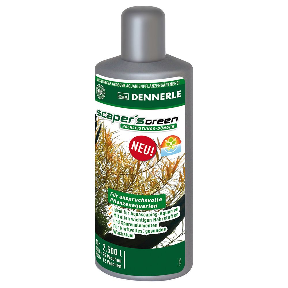 Dennerle Scaper's Green - 250ml (for 2500l)