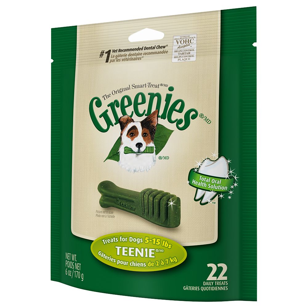170g Greenies Canine Dental Chews – Only £5!* – Large (170g / 4 treats)