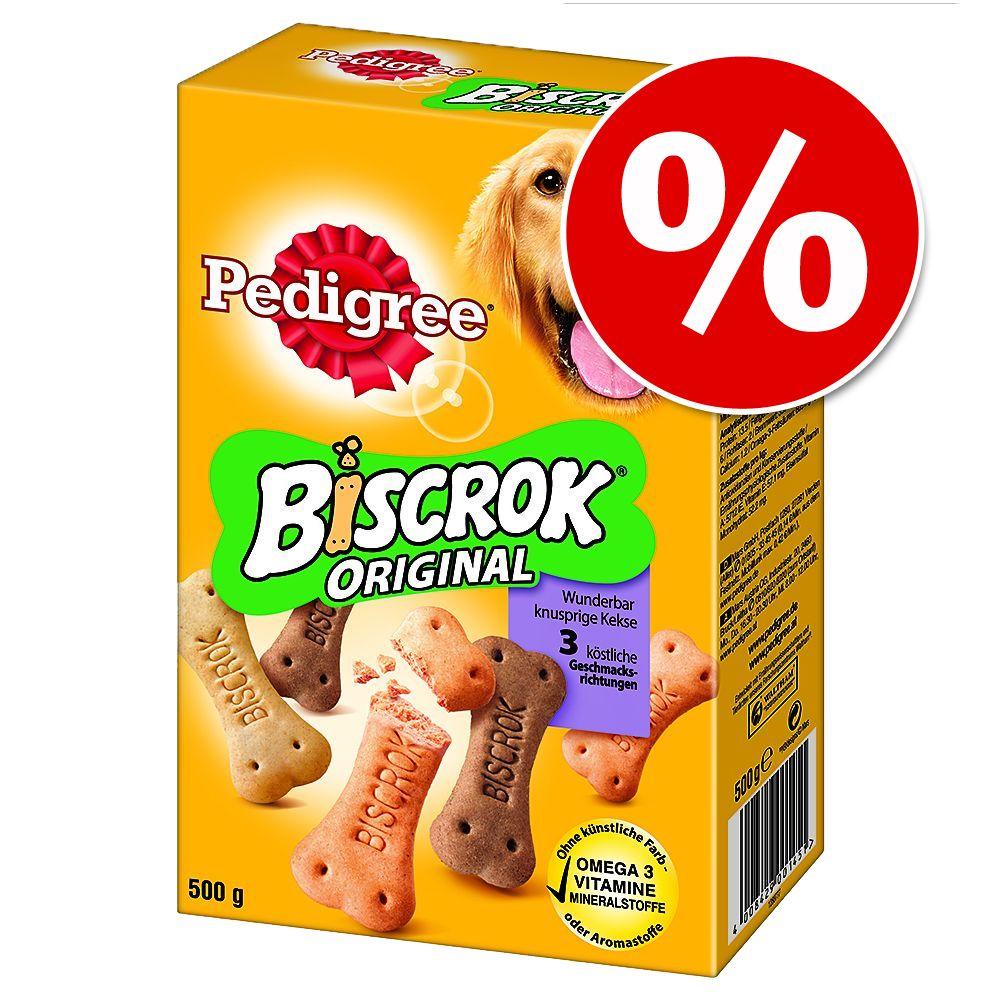 3 x 500 g Pedigree Biscro