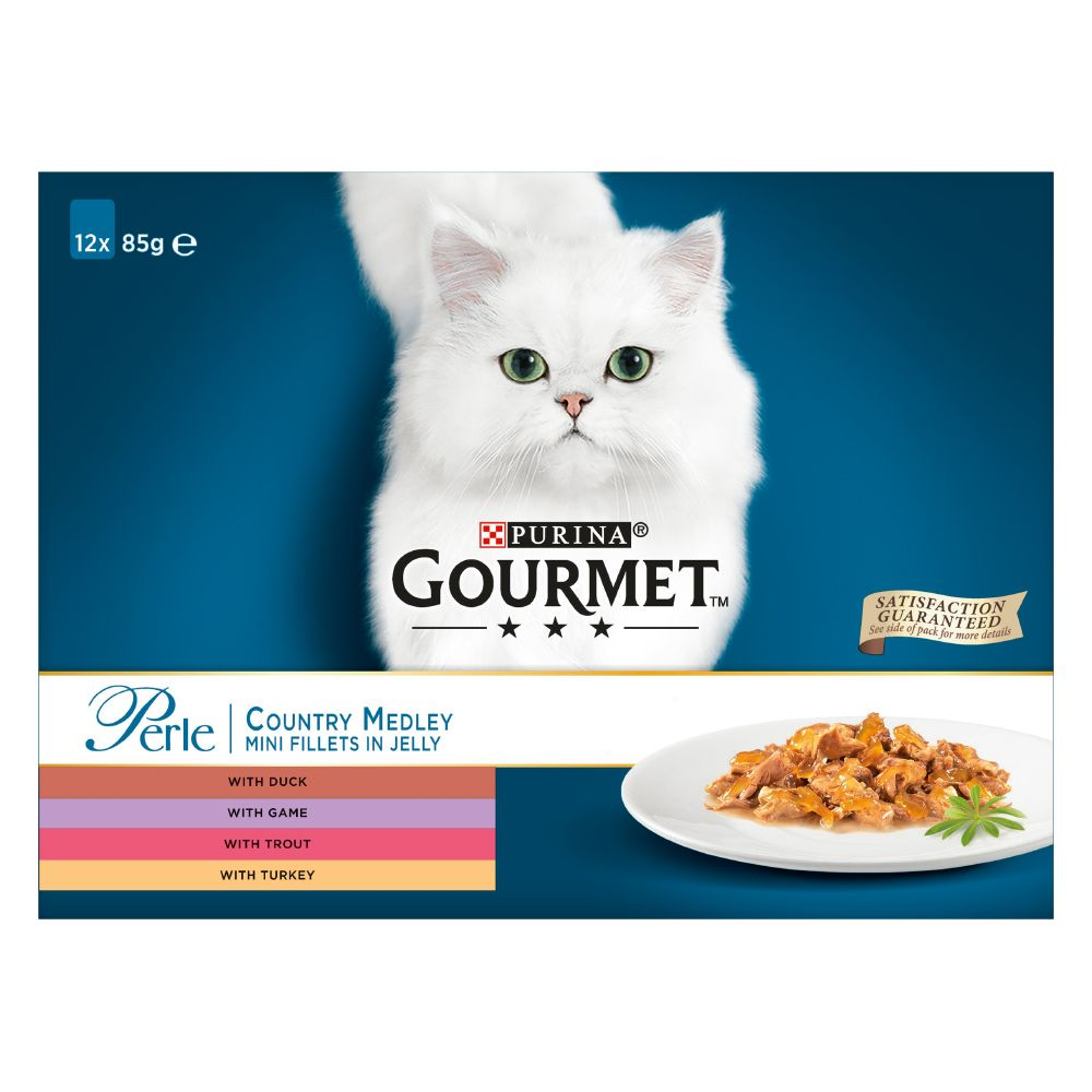 Gourmet Perle 12 x 85 g - Land-Mix in Gelee