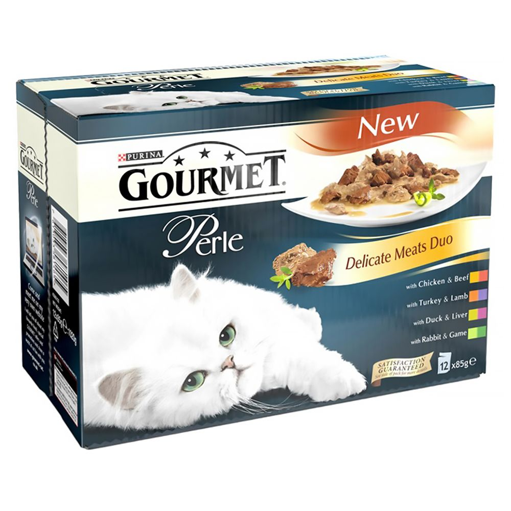 Gourmet Perle 12 x 85g - Ocean Delicacies Mini Fillets in Gravy