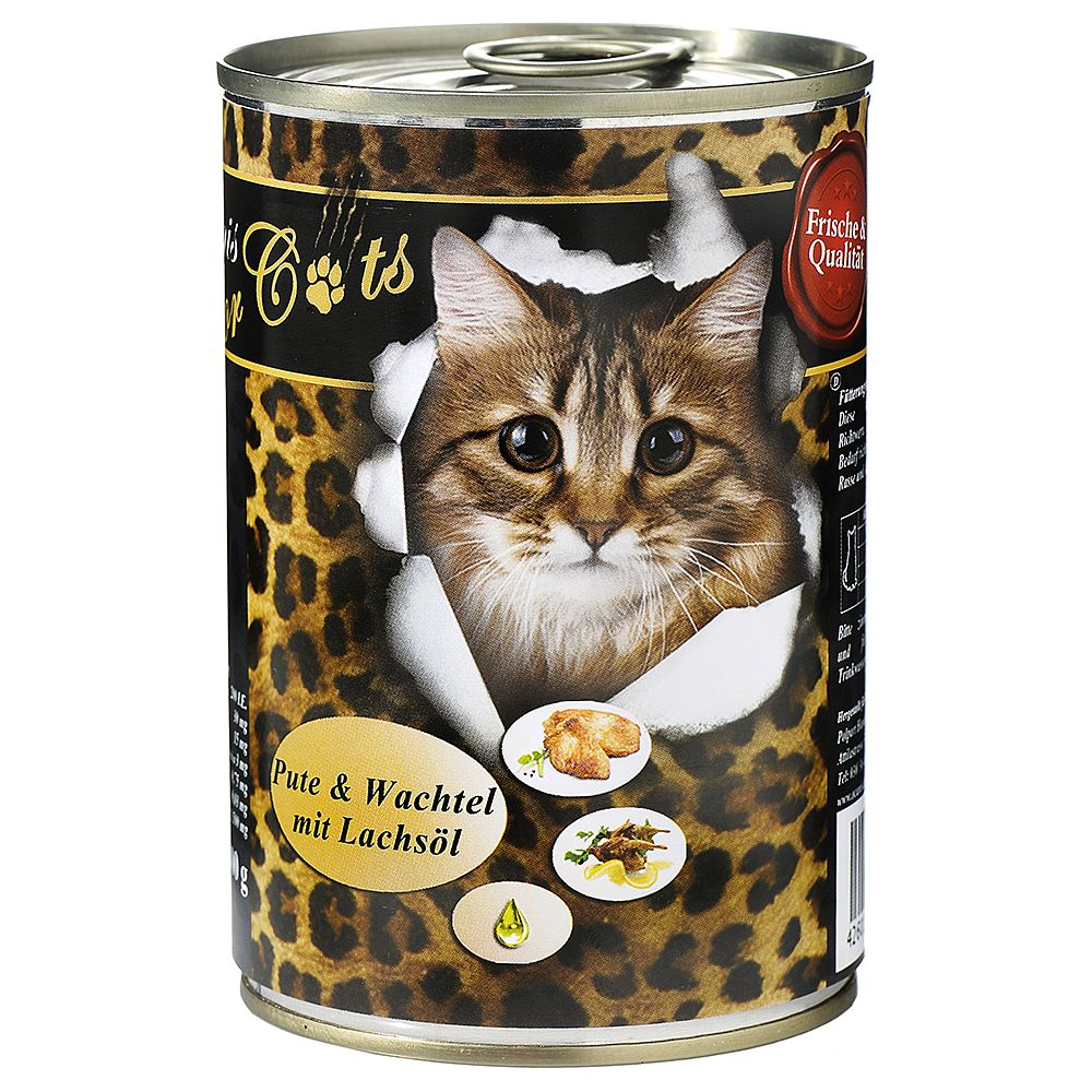 O´Canis for Cats 6 x 400 g – Kanin & kyckling med laxolja