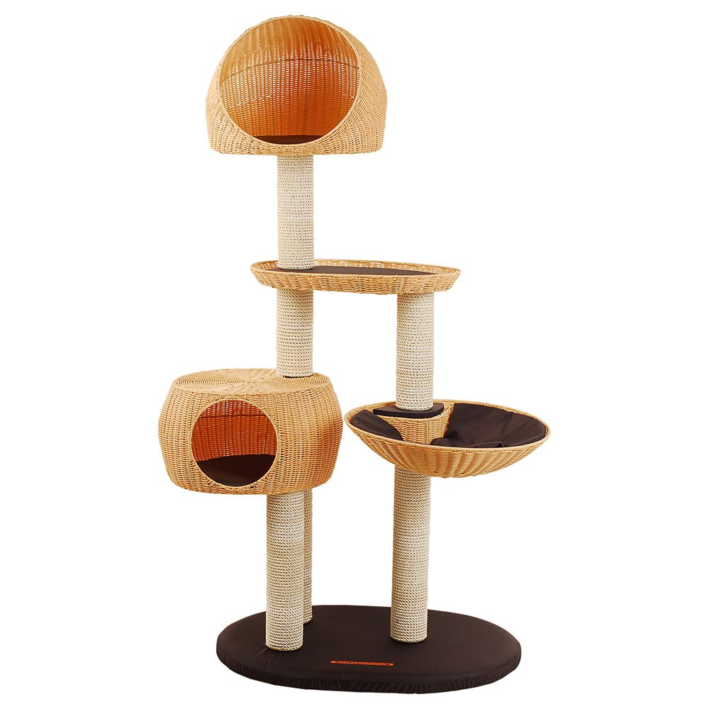 Karlie Brown/Beige Outdoor Cat Tree III