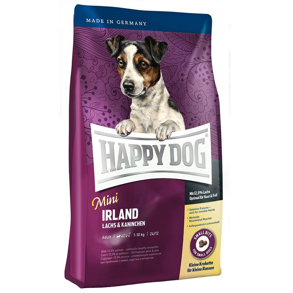 Foto Happy Dog Supreme Mini Irlanda - 2 x 4 kg - prezzo top! Happy Dog Supreme Sensible Happy Dog Mini