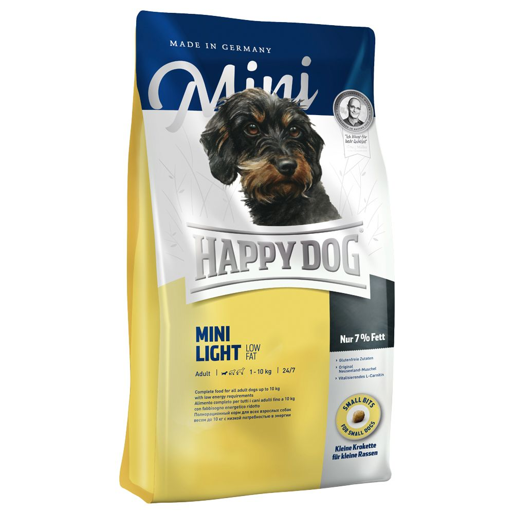 happy dog mini light 4 kg preisvergleich hundefutter g nstig kaufen bei. Black Bedroom Furniture Sets. Home Design Ideas