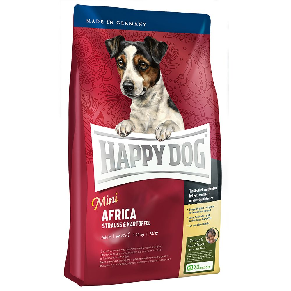 Happy Dog Supreme Sensible Happy Dog Supreme Mini Africa - 4 kg