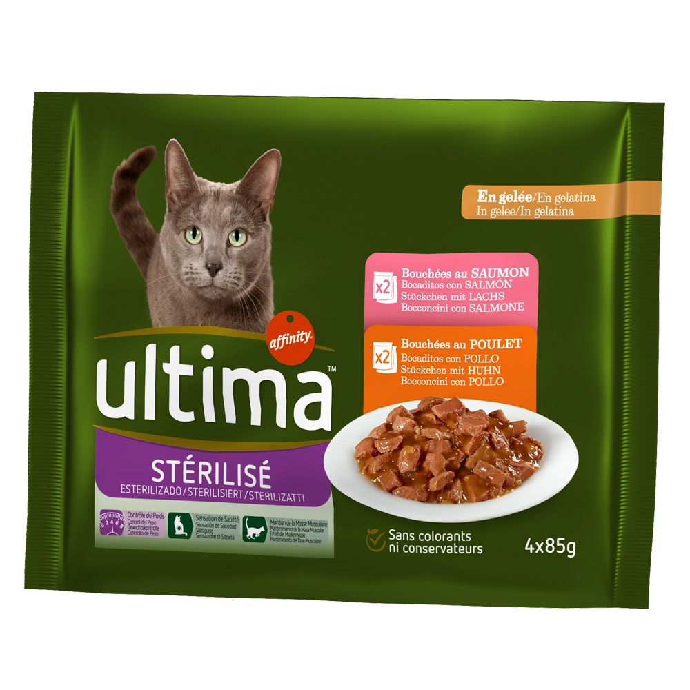Bilde av Ultima Cat Sterilized - 4 X 85 G