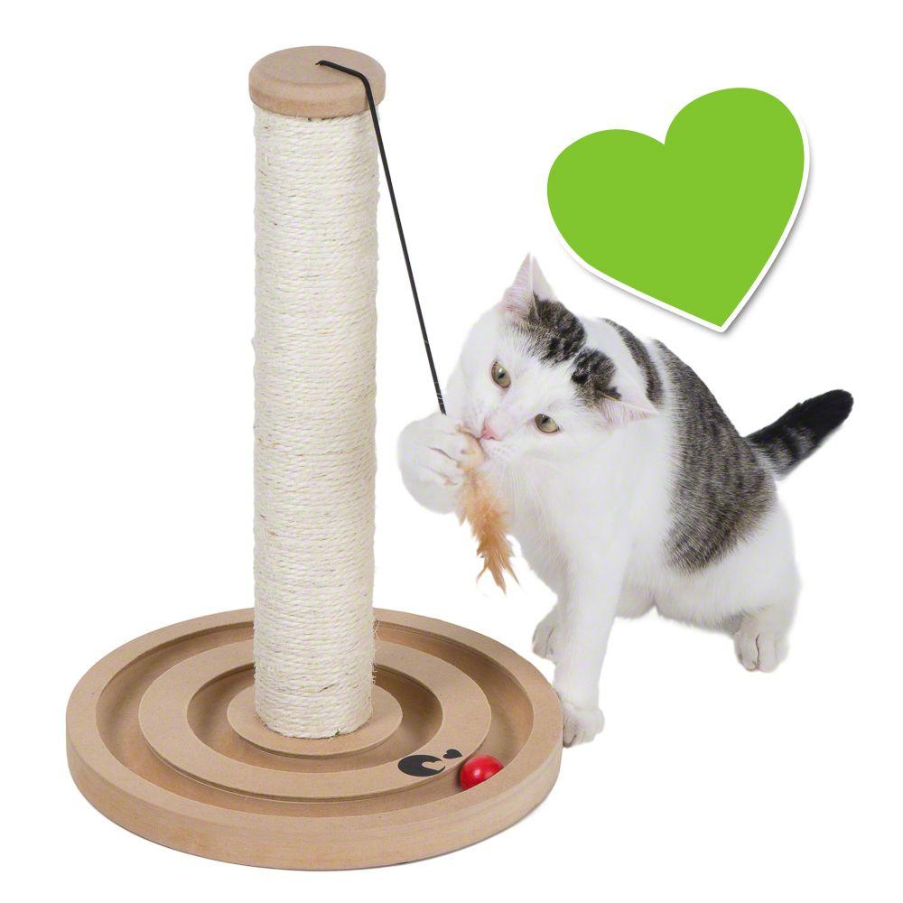 zoolove Scratch & Play drapak dla kota - Ø x wys.: 30 x 43 cm