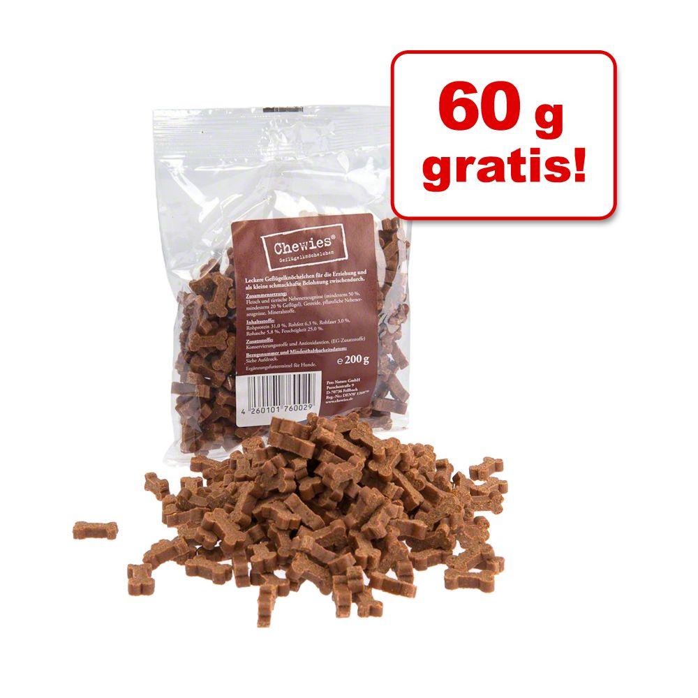 60 g gratis! Chewies Kost