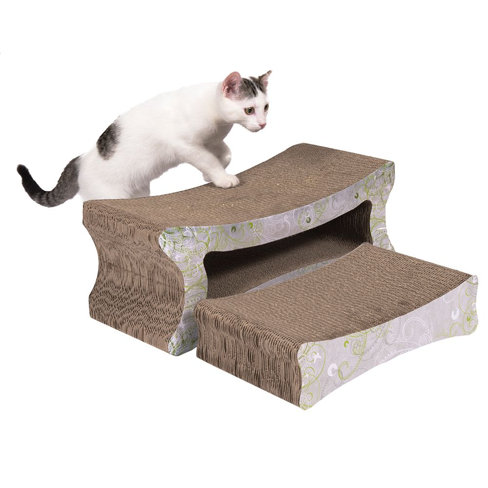 zoolove 2-in-1 Scratch Furniture - 50 x 21 x 20 cm (L x W x H)