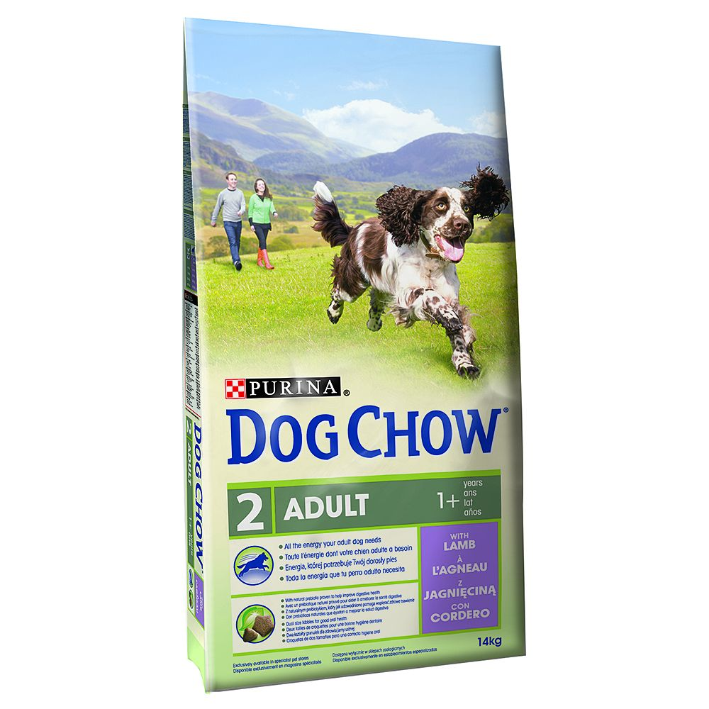 Foto Purina Dog Chow Adult Agnello & Riso (ex Tonus) - 2 x 14 kg - prezzo top!