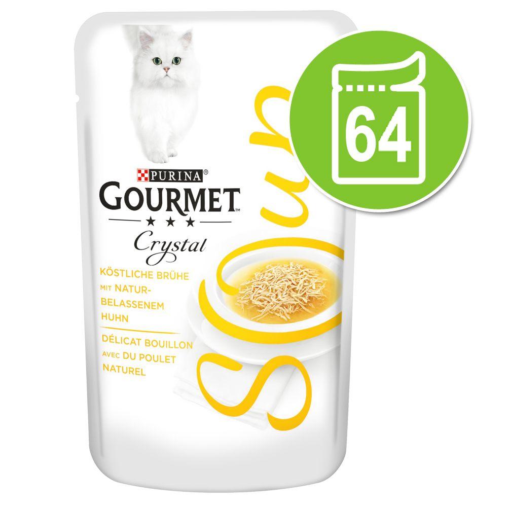 Ekonomipack: Gourmet Soup 64 x 40 g - Tonfisk & ansjovis