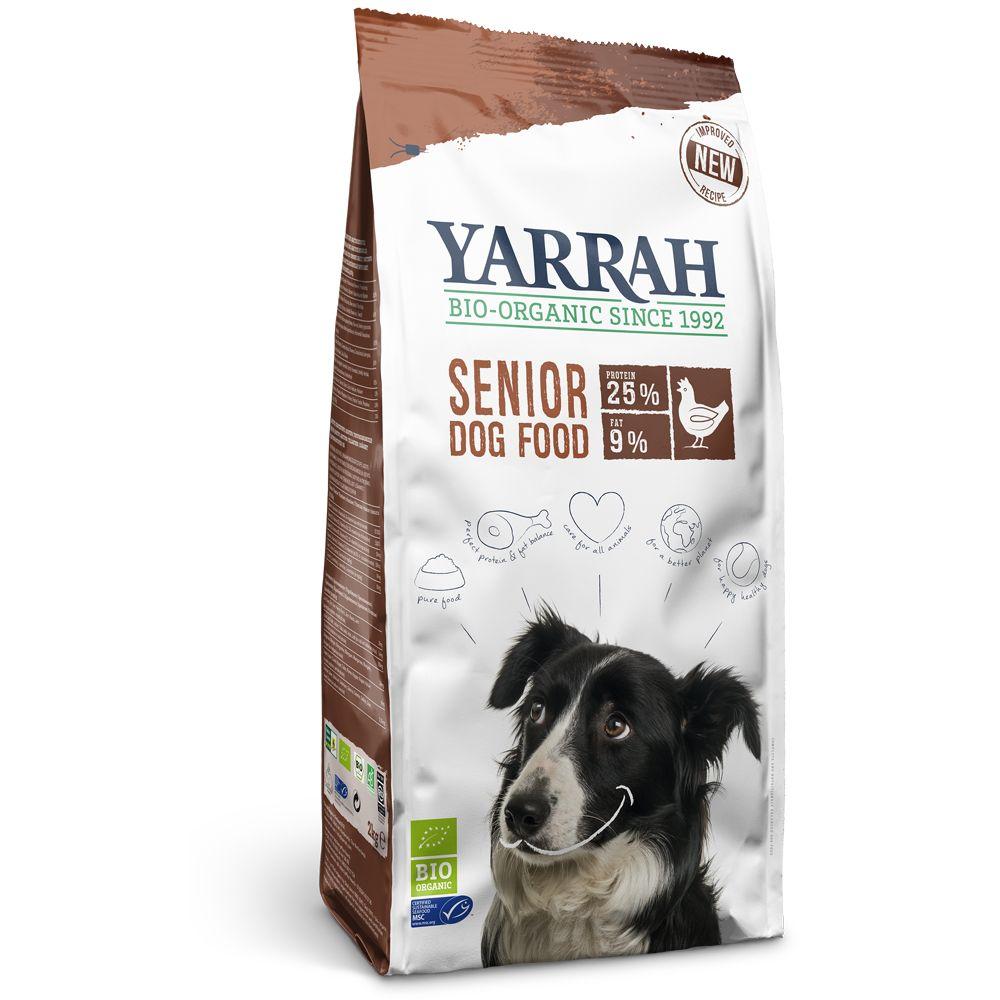 Yarrah Organic Senior hundfoder (glutenfritt) - Ekonomipack: 2 x 10 kg