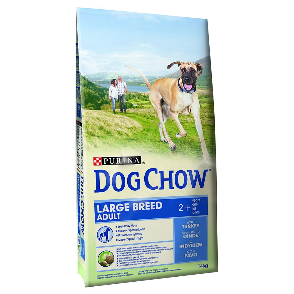 Purina Dog Chow Puppy Large Breed, dinde pour chiot - 2 x 14 kg