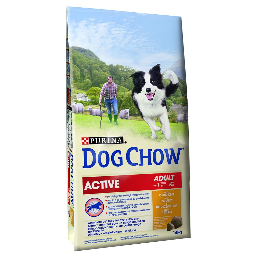Foto Purina Dog Chow Adult Active Pollo (ex Tonus) - 2 x 14 kg - prezzo top!