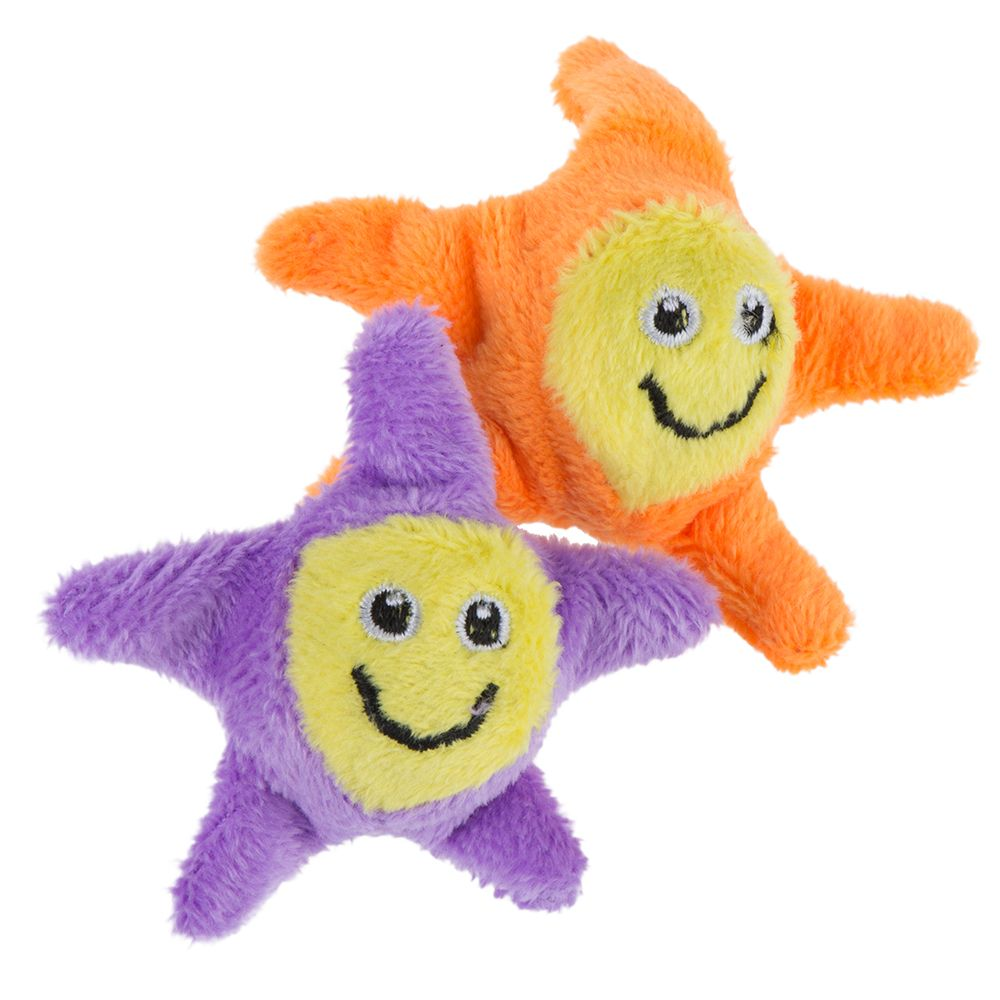 INOpets.com Anything for Pets Parents & Their Pets Jumping Stars Cat Toys - 2 Toys