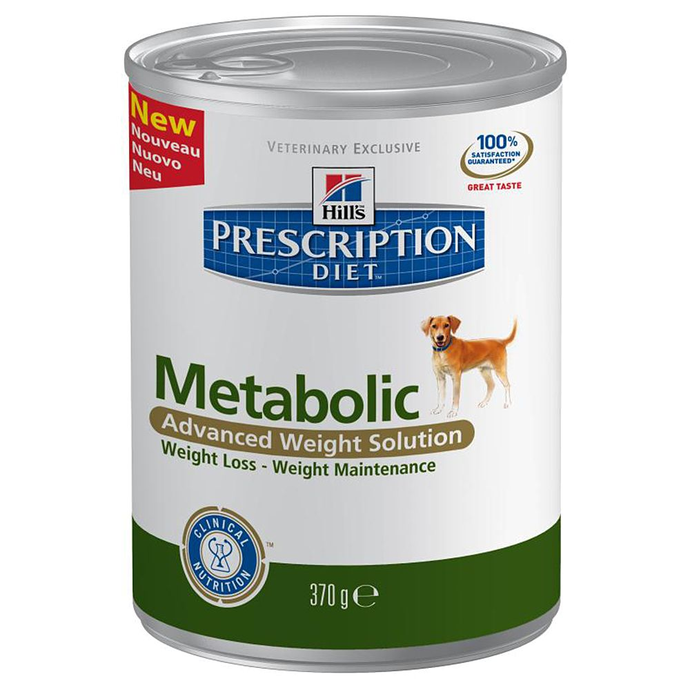 Hill's Prescription Diet Canine - Metabolic - 12 x 370g