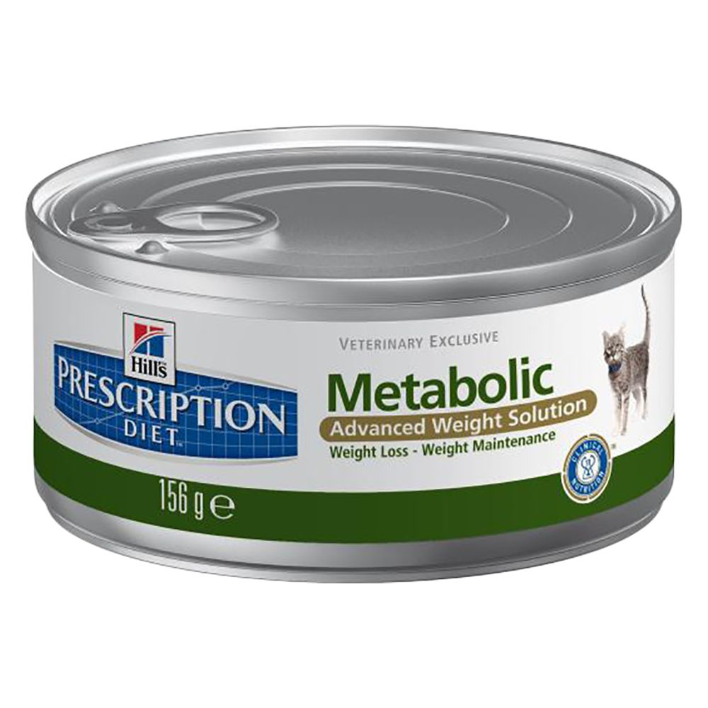 Metabolic Cans Feline Hill's Prescription Diet Wet Cat Food