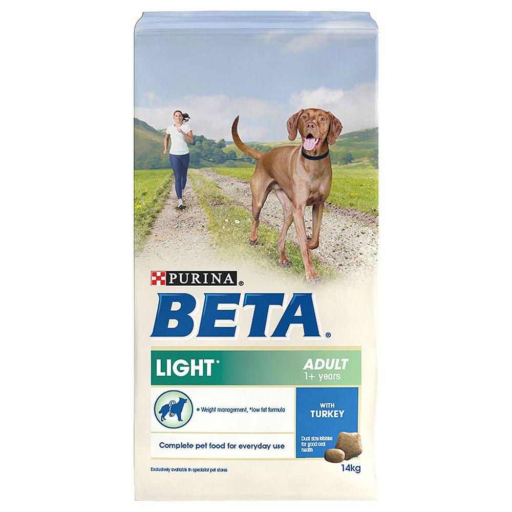 BETA Adult Light with Turkey - 2 x 14kg