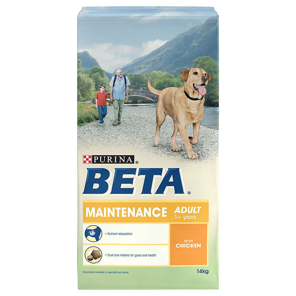 BETA Adult Pet Maintenance with Chicken - 2 x 14kg