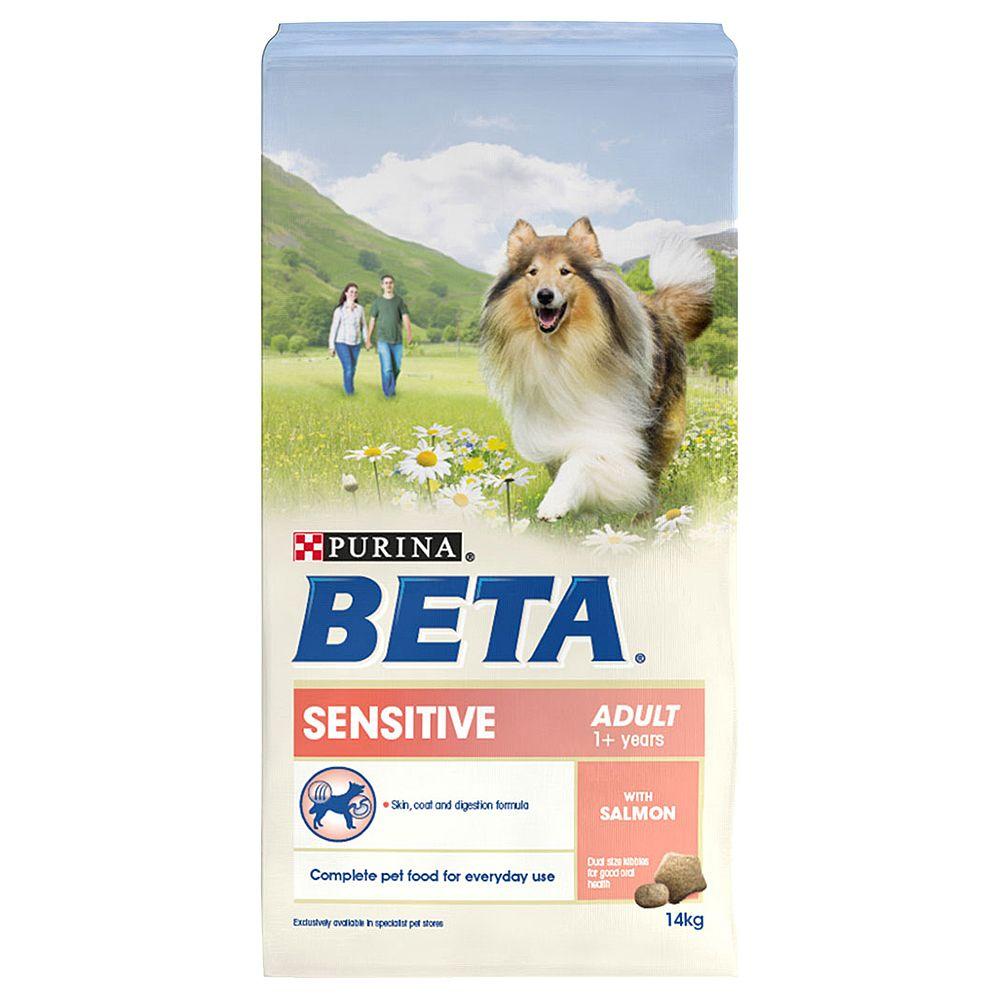 BETA Adult Sensitive with Salmon - 2 x 14kg