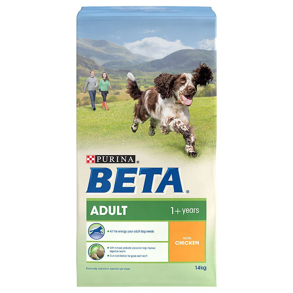 BETA Adult with Chicken - 2 x 14kg