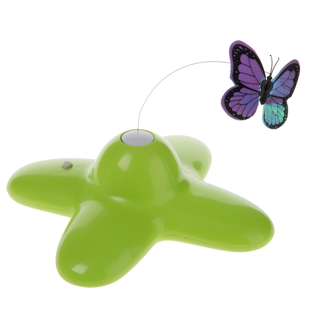 Funny Butterfly Cat Toy - 1 Toy