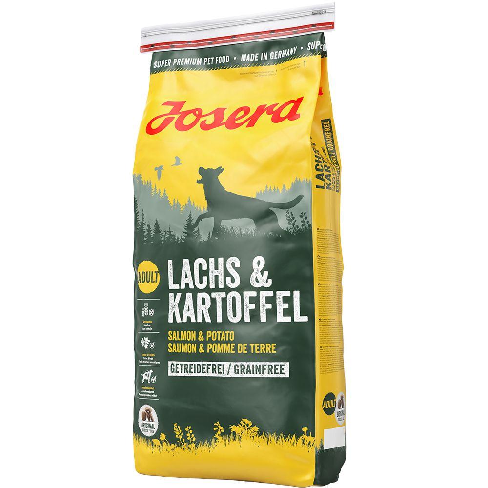 Josera Lachs & Kartoffel getreidefrei - 15 kg