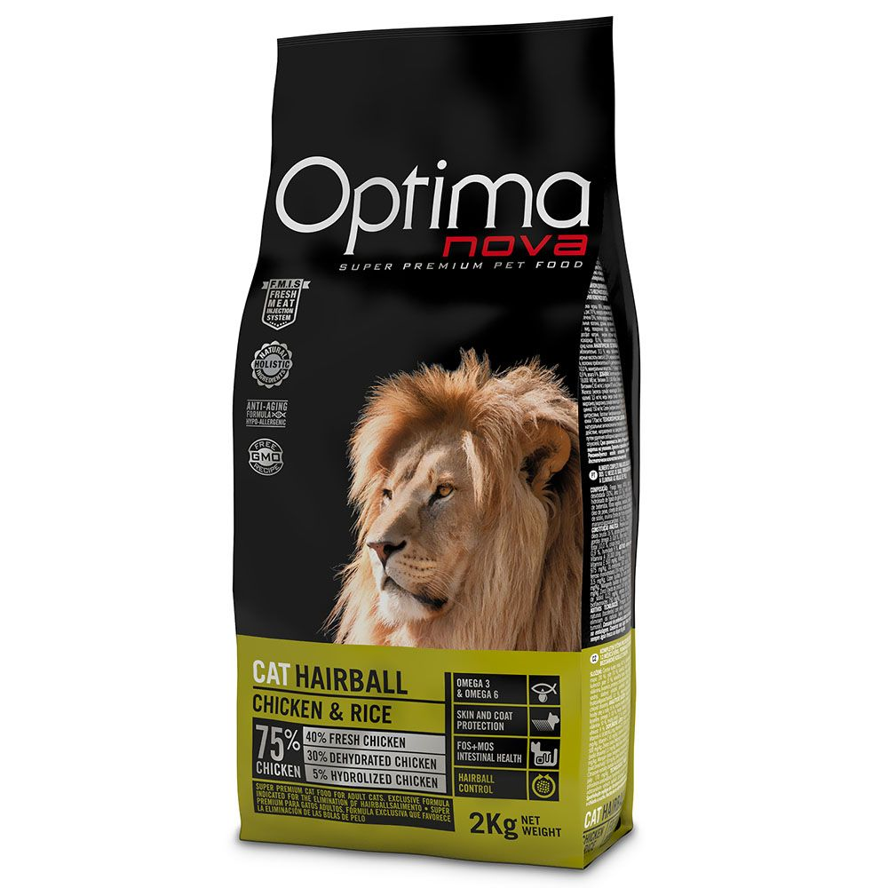 Optimanova Hairball - 8kg