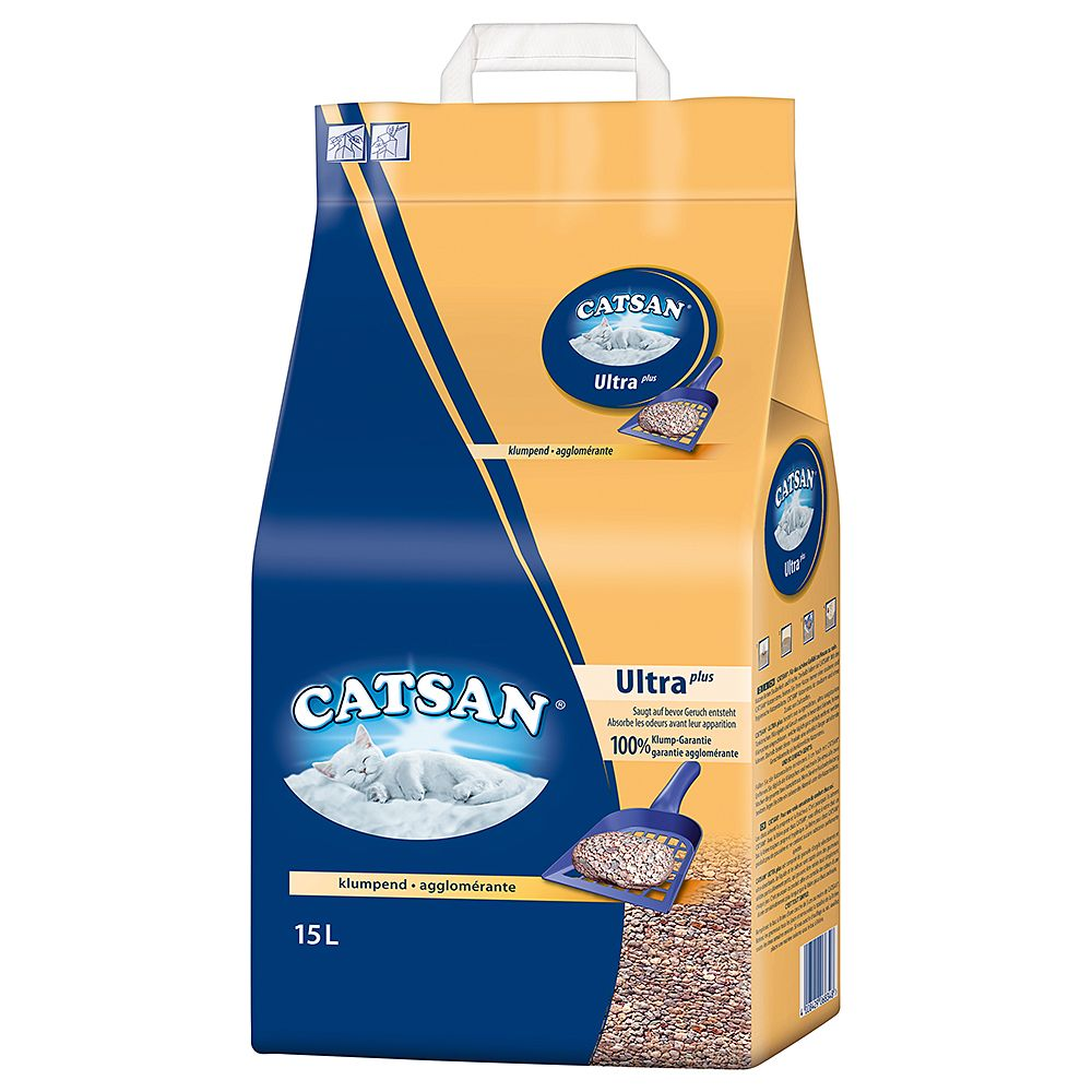 15l Catsan Ultra Clumping Cat Litter