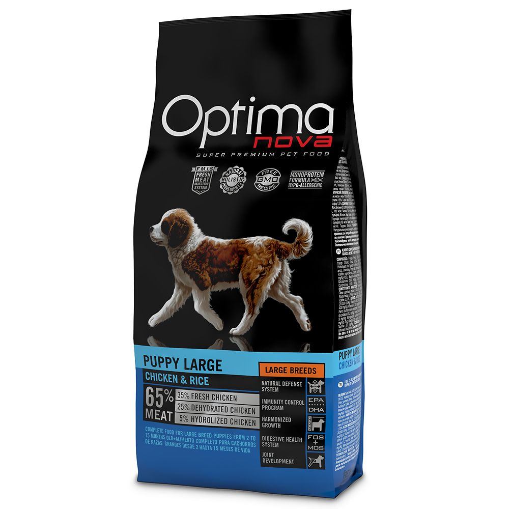 Optimanova Large Puppy Chicken & Rice