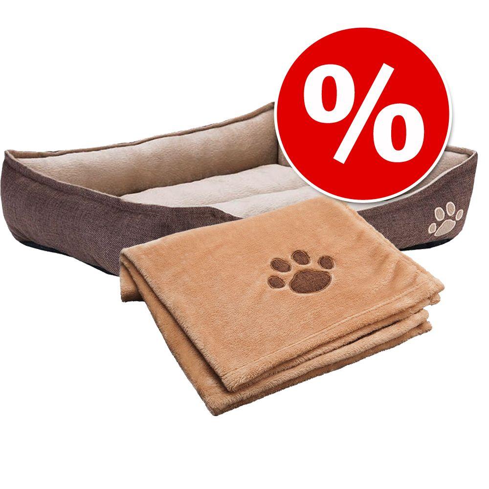 Sparset: Basic säng + Basic filt - Säng stl S + filt