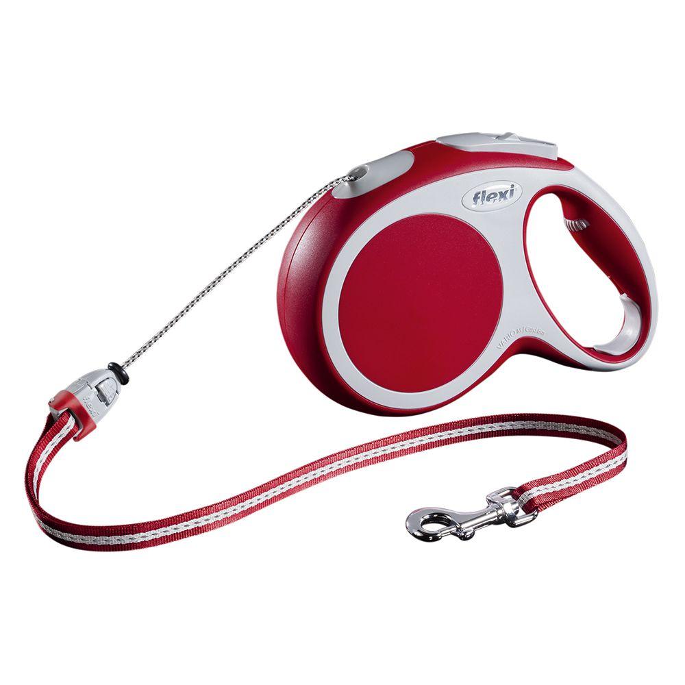 flexi Vario Cord Lead Medium - Red 8m - LED Lighting System