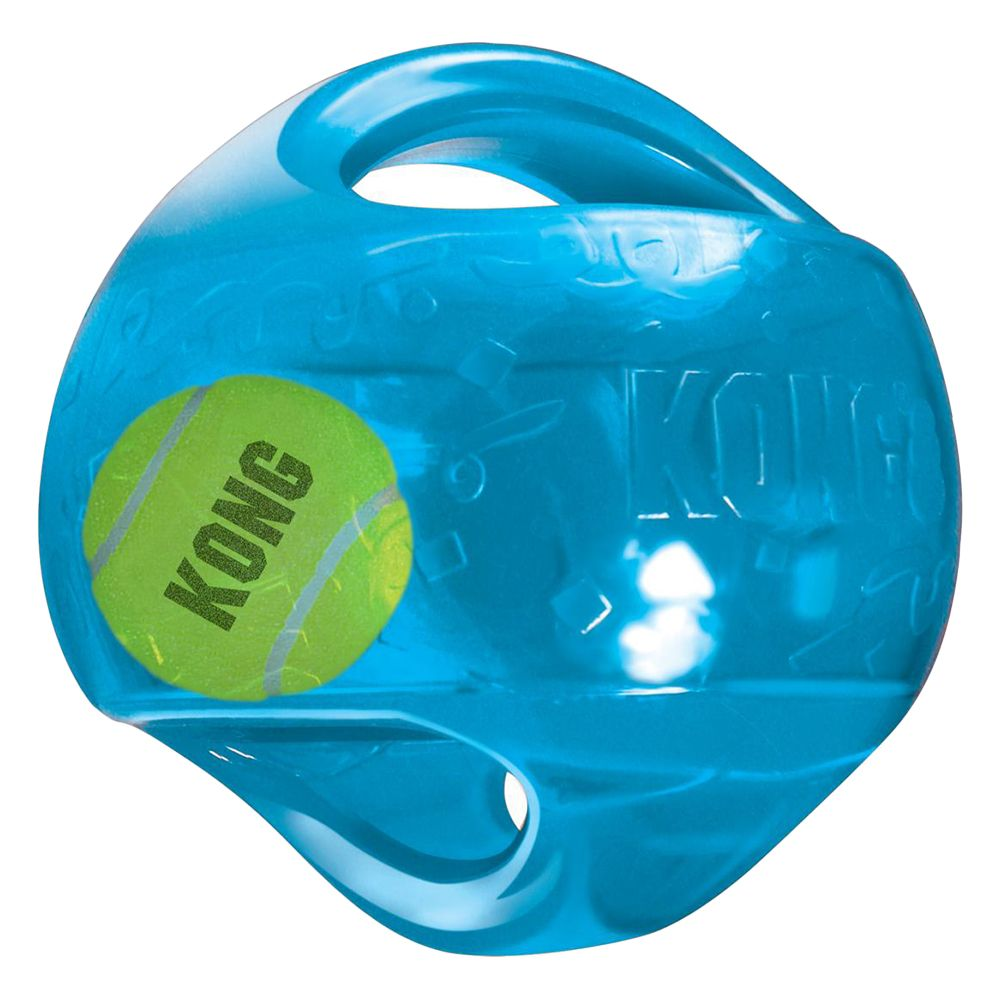 KONG Jumbler Ball - Gr. M/L: L 14 x B 14 x H 14 cm