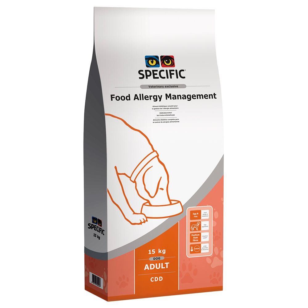 Specific Dog CDD - Food Allergy Management - Sp...