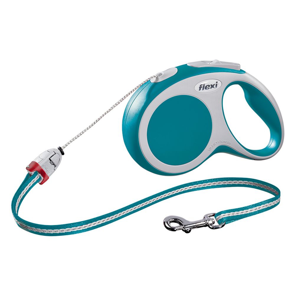 flexi Vario Cord Lead Small - Turquoise 8m - Turquoise 8m