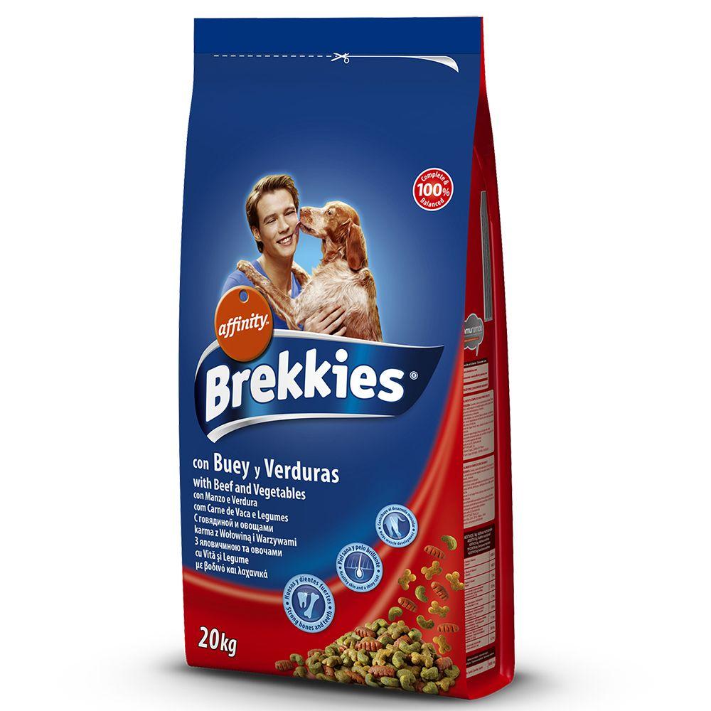 Foto Brekkies Dog Mix Beef - 20 kg Affinity Brekkies
