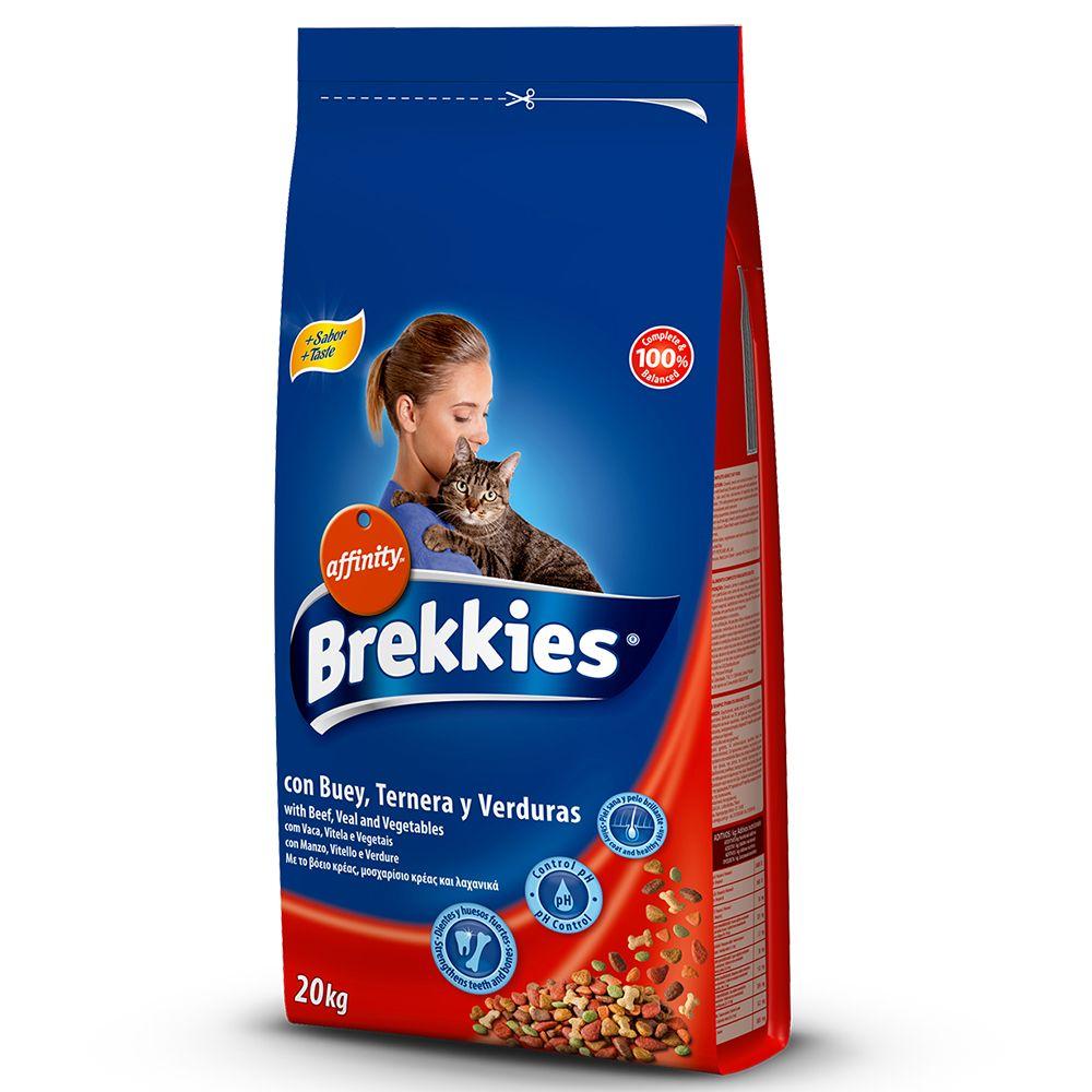 Foto Brekkies Cat Beef - 20 kg Affinity Brekkies