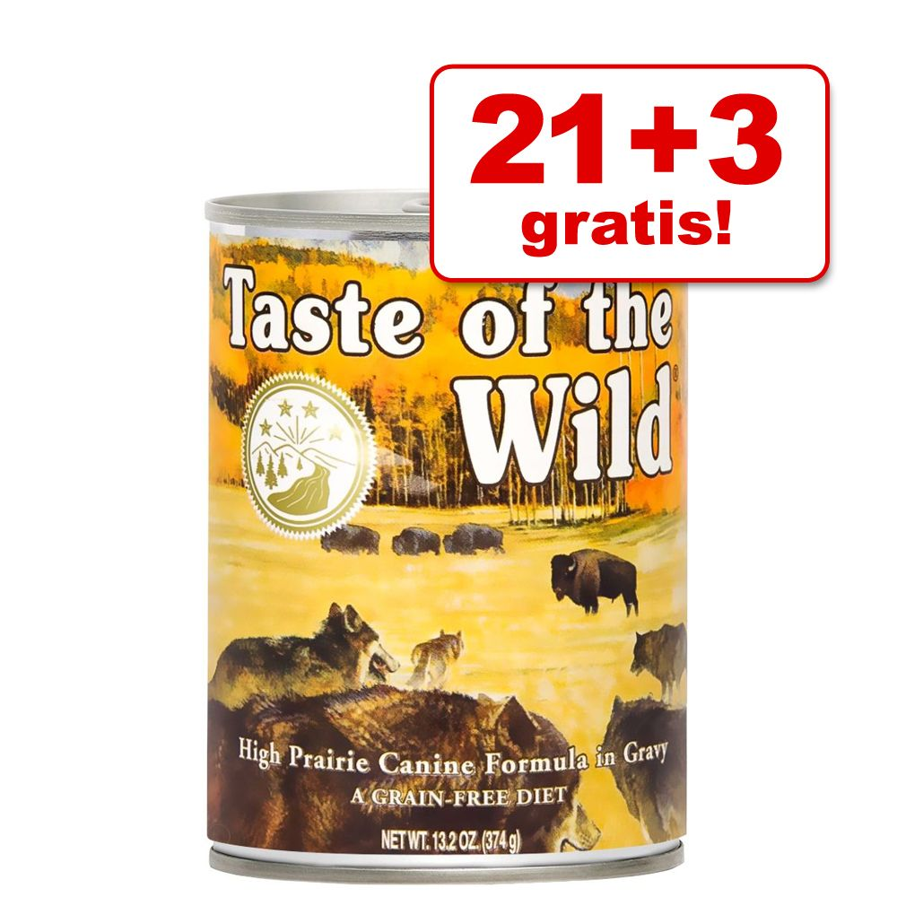 21 + 3 gratis! Taste of T