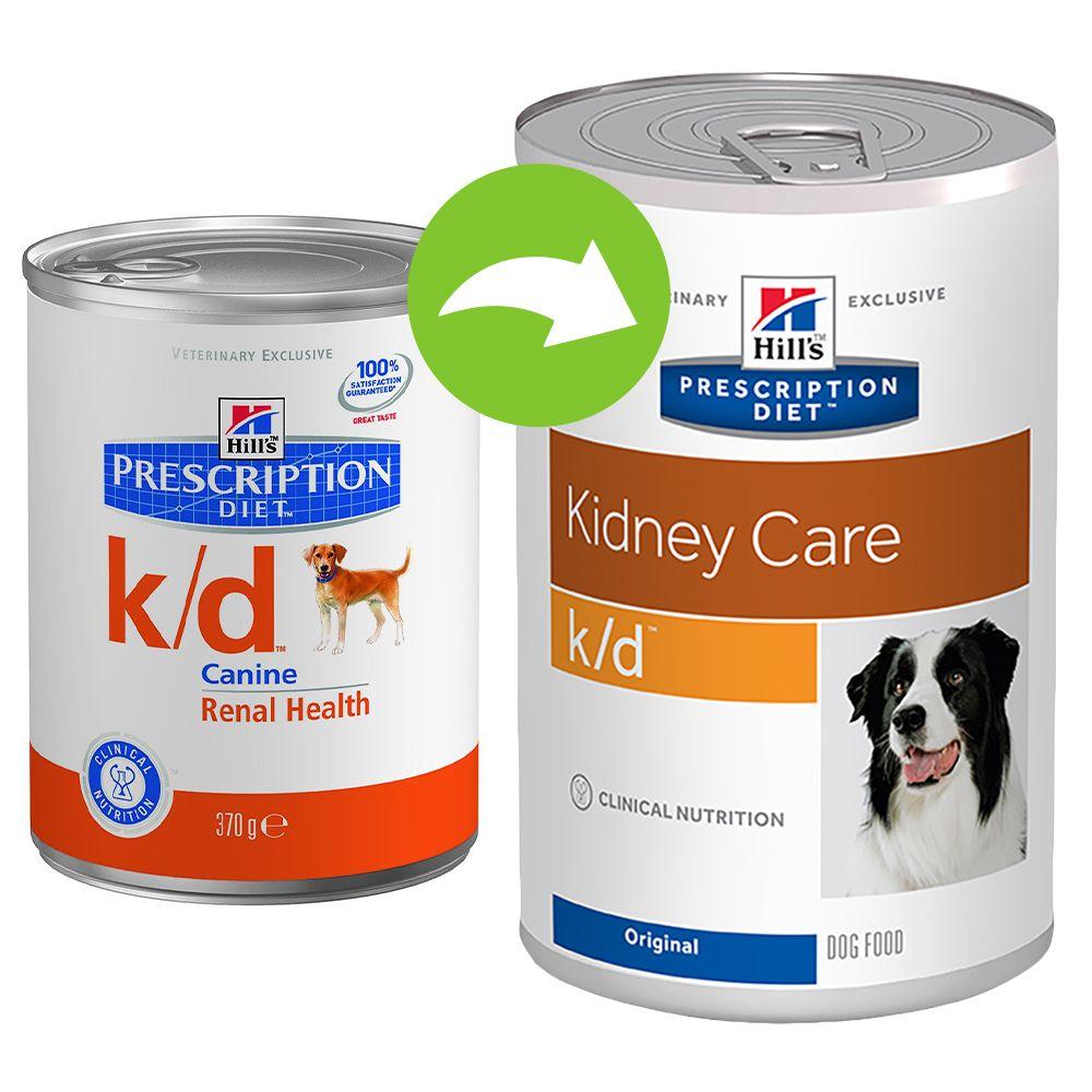Hill´s Prescription Diet Canine k/d – 12 x 370 g
