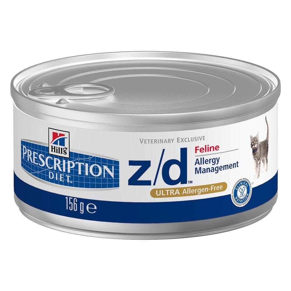 Hill´s Prescription Diet Feline z/d Ultra Allergen-Free - 1 x 156 g