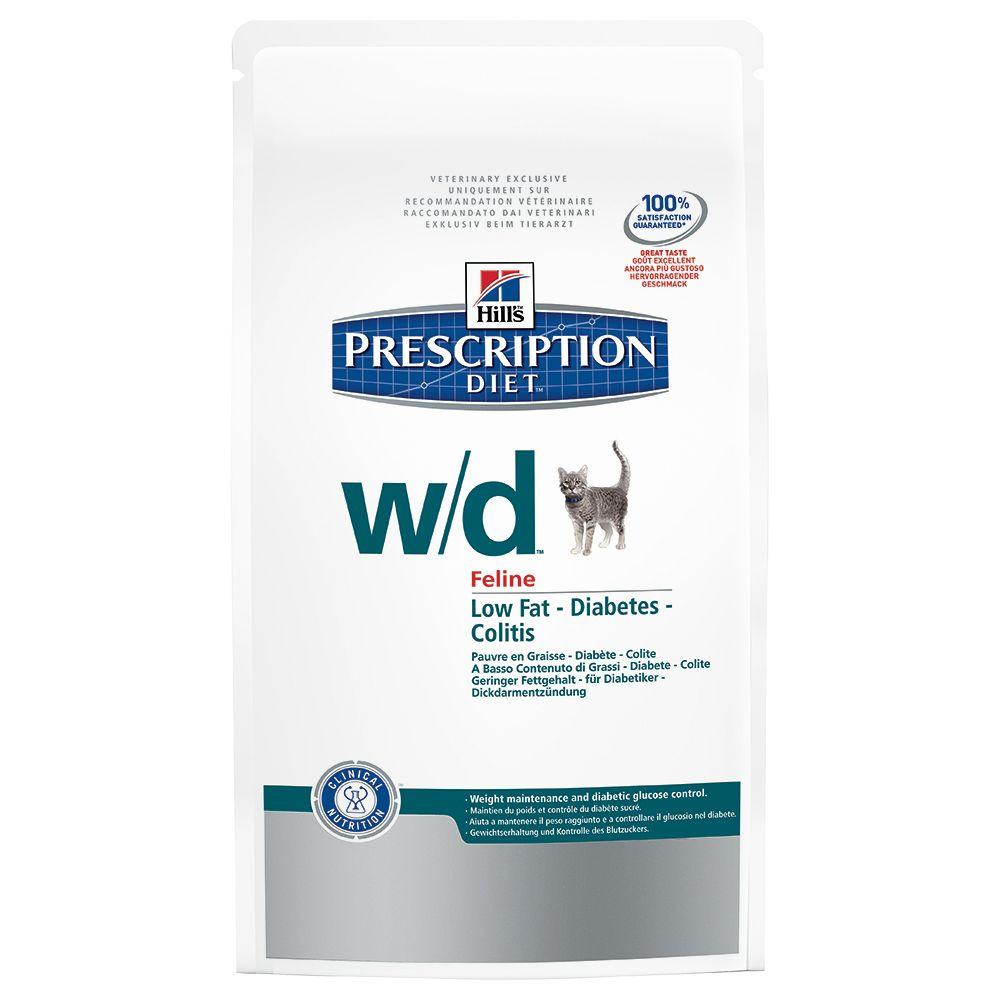 Foto Hill's w/d Prescription Diet Feline secco - 2 x 5 kg - prezzo top! Hill's Prescription Diet Diabete e sovrappeso