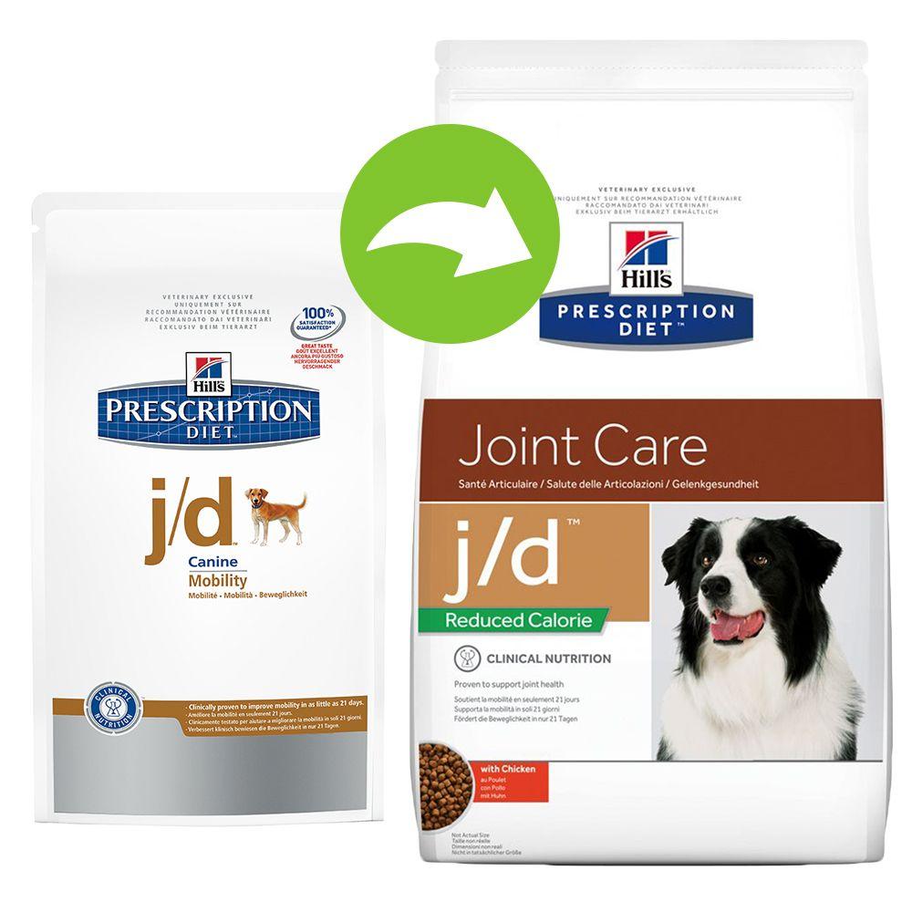 Hill's Prescription Diet Canine - j/d Reduced Calorie Joint Care - 12kg
