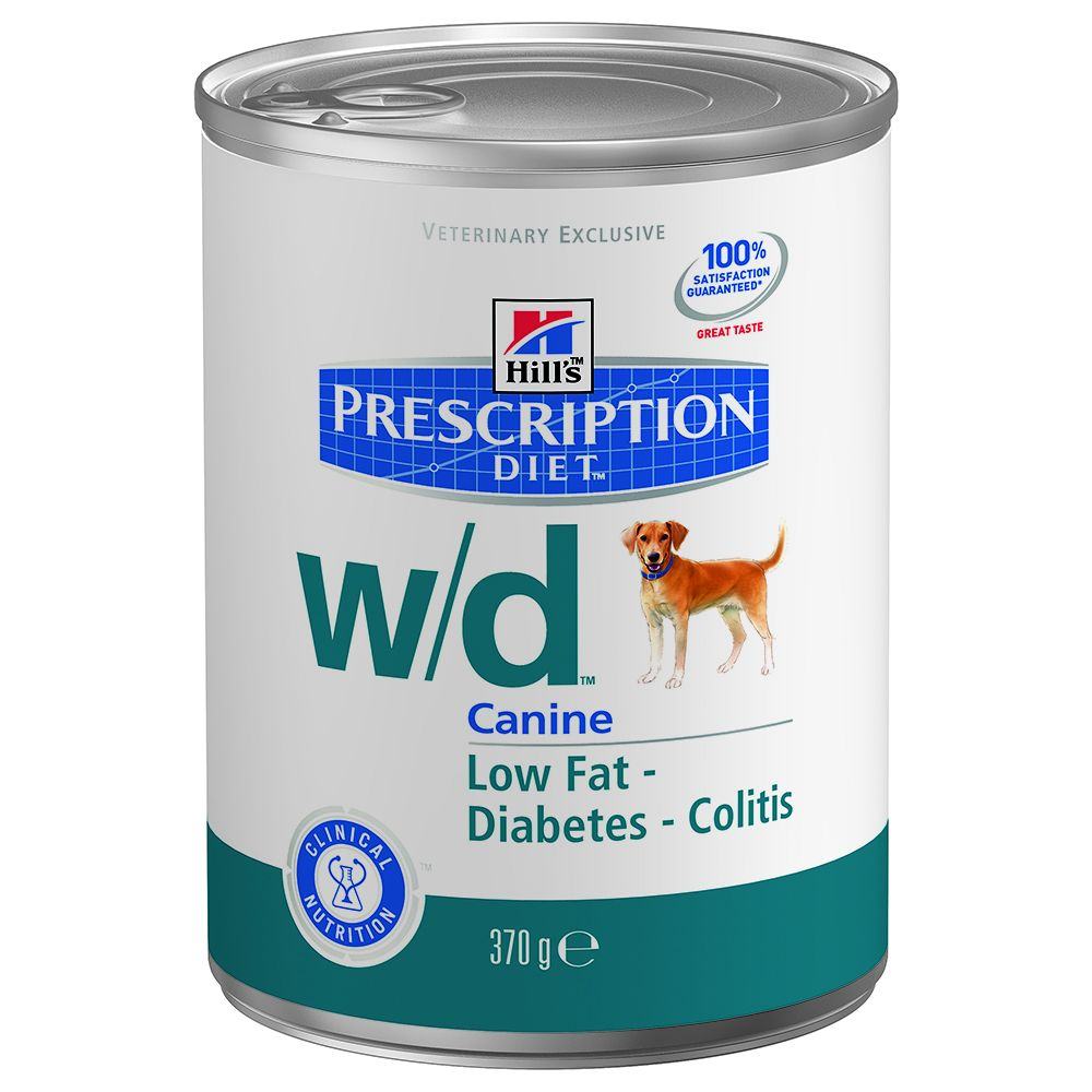 Foto Hill's w/d Prescription Diet Canine umido - 24 x 370 g Hill's Prescription Diet Diabete e sovrappeso
