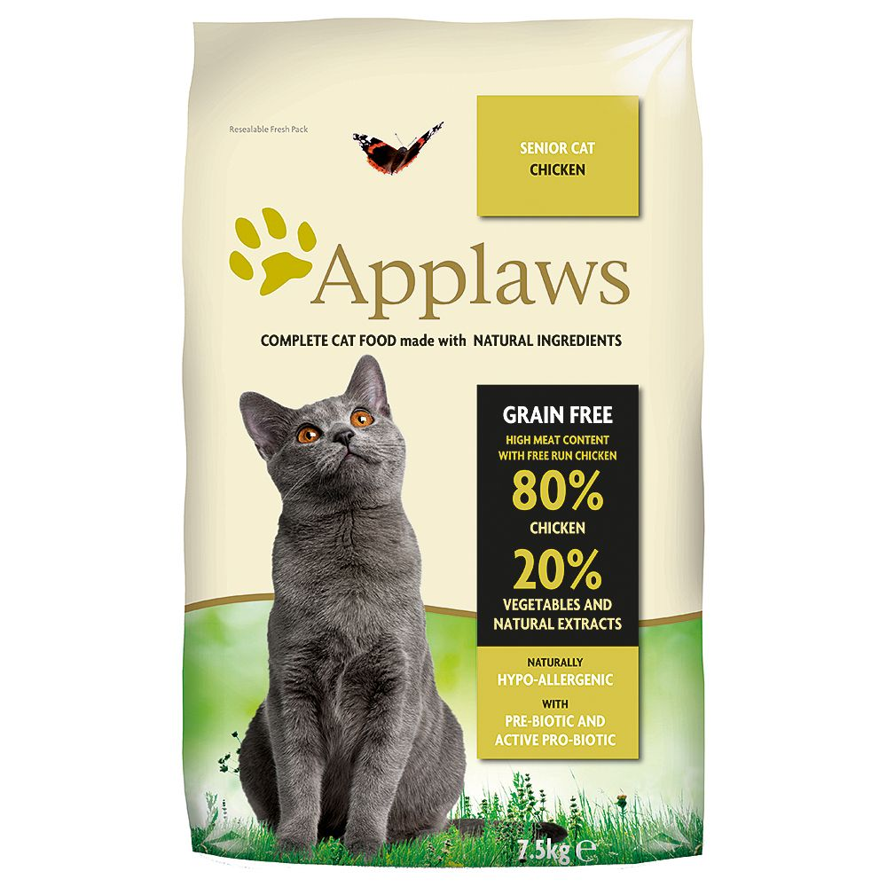 INOpets.com Anything for Pets Parents & Their Pets Applaws Senior Cat Food - 2kg