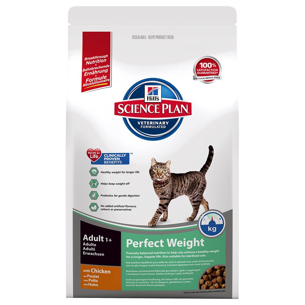 8kg Hill's Science Plan Feline - 12 x 85g Pouches Free!* - Young Adult Sterilised Chicken (8kg) + Young Adult Sterilised Cat Pouches Mixed Pack (12 x 85g)