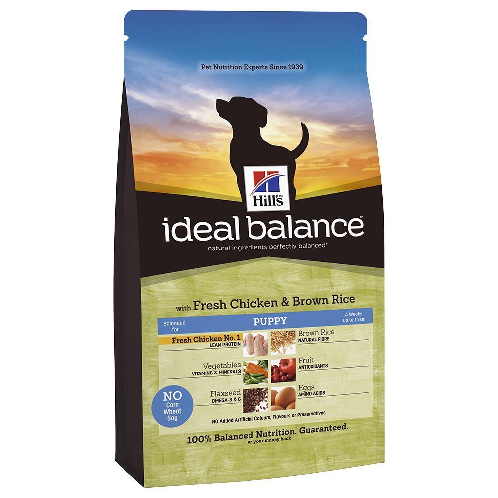 Hill's Ideal Balance Puppy - Chicken & Brown Rice - 12kg