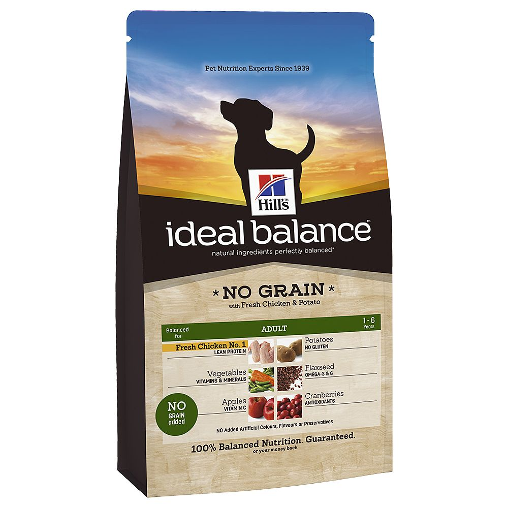 Hill's Ideal Balance Canine Adult No Grain - Chicken & Potato - 12kg