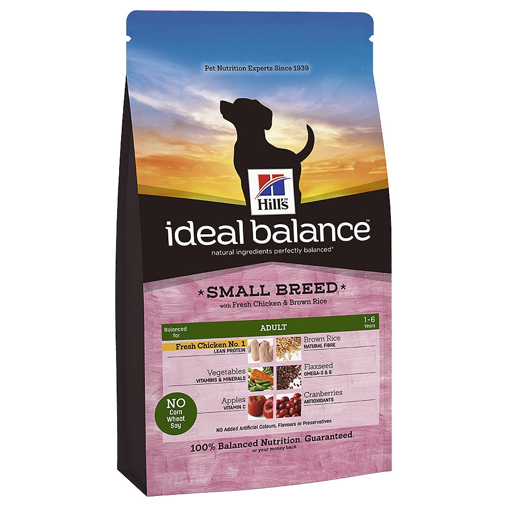 Foto Hill's Canine Ideal Balance Adult Small Breed Pollo & Riso - 2 x 2 kg - prezzo top! Hill's Ideal Balance