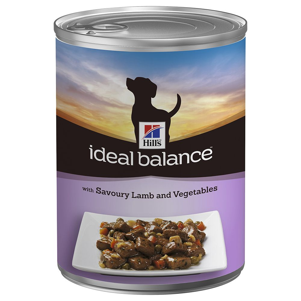 Hill's Ideal Balance Wet Dog Food Saver Packs 12 x 363g - Adult Chicken